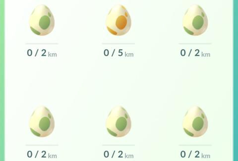 Huevos Pokémon GO