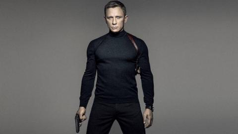 James Bond interpretado por Daniel Craig