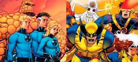 X-Men y Los Cuatro Fantásticos