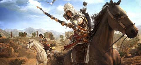 Assassin's Creed Origins - Bayek y Aya