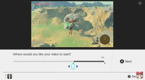 Fotos y vídeos en Nintendo Switch