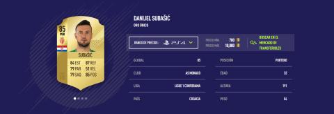 FIFA 18 - Subasic