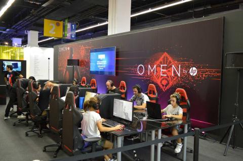 Zona PC gaming de Barcelona Games World