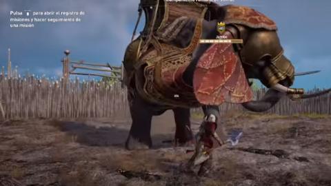 Assassin's Creed Origins elefantes de guerra