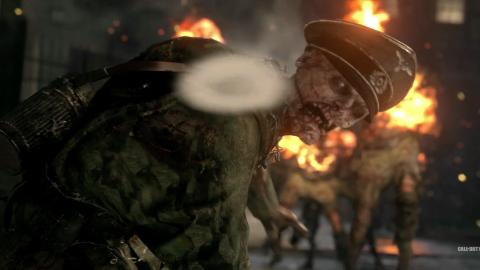 Call of Duty WWII zombis
