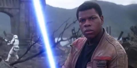 John Boyega dice si Finn es Jedi en Star Wars: Los últimos Jedi