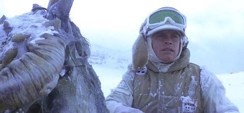 Luke Skywalker en Hoth