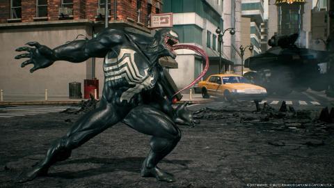 Venom en Marvel vs. Capcom Infinite