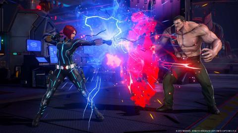 Viuda Negra en Marvel vs. Capcom Infinite