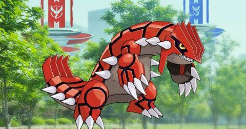 Groudon Pokemon GO