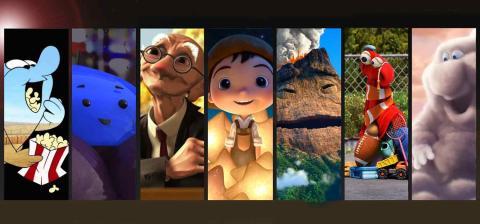 Los mejores cortos de Pixar