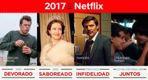 Netflix analiza los títulos más disfrutados por los españoles