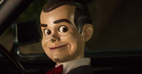 Jack Black, R.L. Stine, muñeco ventrílocuo