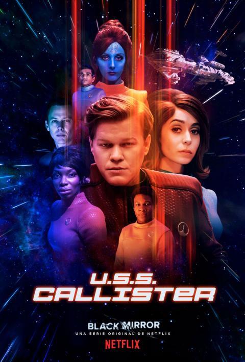 Póster U.S.S. Callister - Black Mirror temporad 4