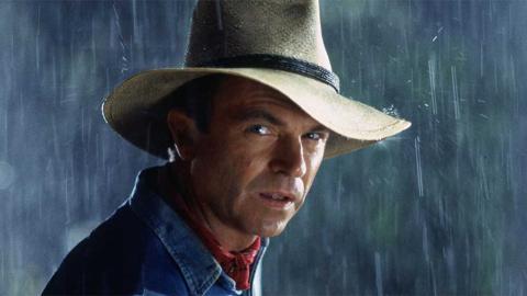 Sam Neill como Alan Grant en Jurassic Park