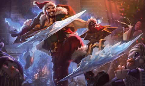 Skins navideñas de League of Legends eSports
