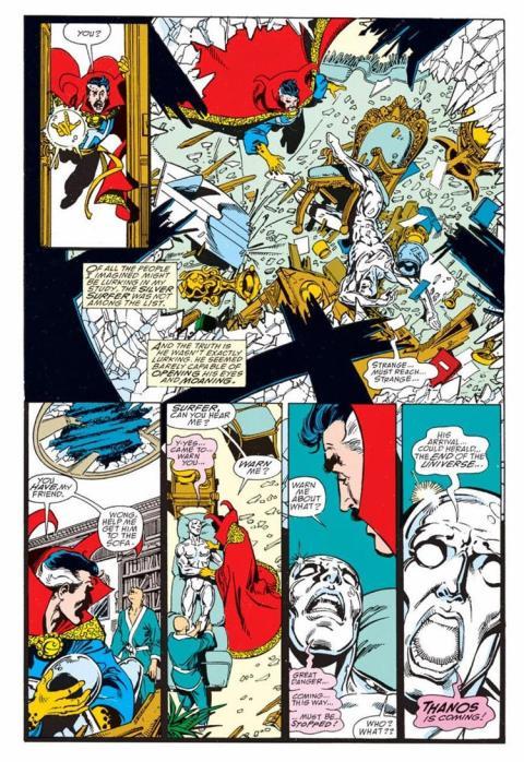 Silver Surfer, Marvel, comic