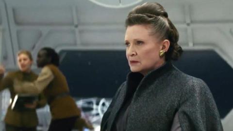 Rian Johnson confirma que Leia no es una jedi.