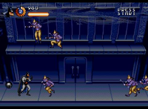 The Adventures of Batman and Robin Mega Drive
