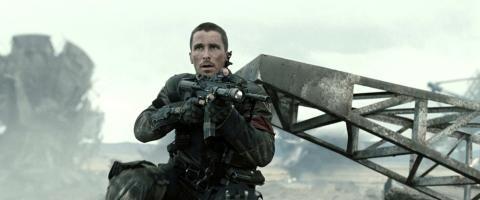 Christian Bale como John Connor en Terminator Salvation