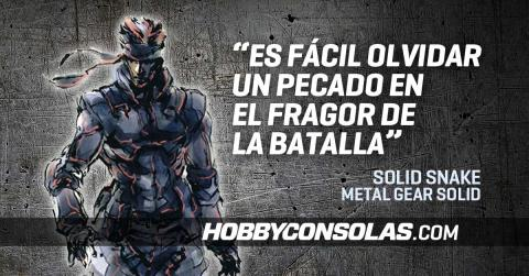 Citas Metal Gear Solid