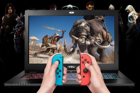 Joy-con de Nintendo Switch en PC