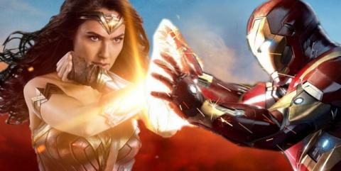 Wonder Woman, Iron Man