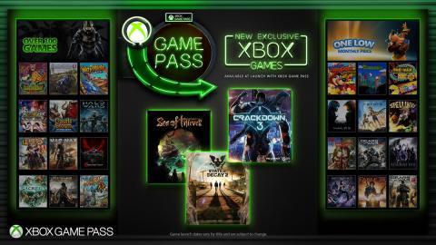 Exclusivos de Xbox One en Game Pass