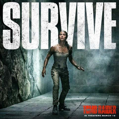 Nuevo póster de Tomb Raider con Alicia Vikander