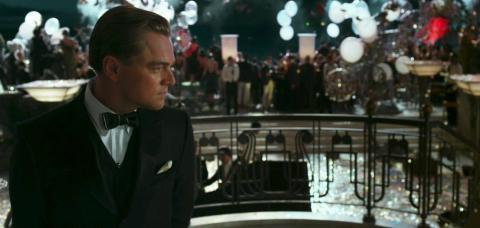 Leonardo DiCaprio en el Gran Gatsby