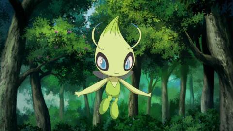 Pokémon Cristal Celebi