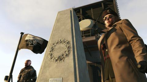 Metal Gear Solid V The Phantom Pain desarme nuclear