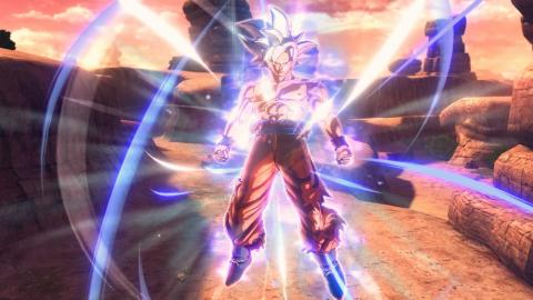 Goku Ultra Instinto en Dragon Ball Xenoverse