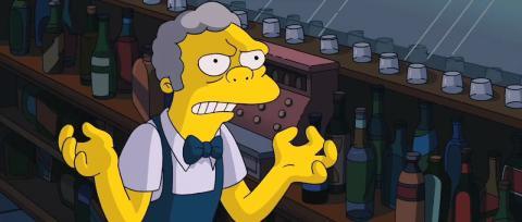 Moe Szyslak de Los Simpsons