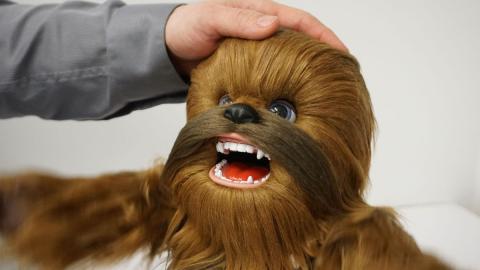 Peluche de Chewie