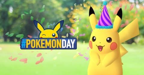 Pokémon GO - Pikachu festivo