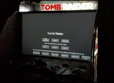 Recreativa de Tomb Raider
