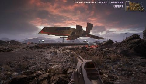 Star Wars Dark Forces remake fan