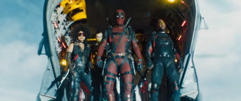 Shatterstar y Terry Crews en el tráiler de Deadpool 2