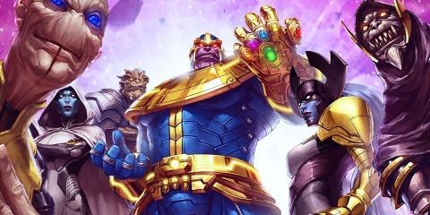 Thanos y la Orden Negra