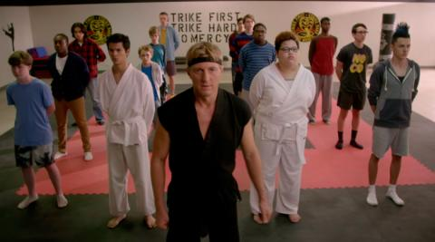 Cobra Kai, serie de Karate Kid