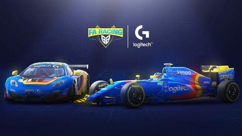Coches FA Racing Logitech G