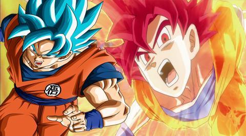 Goku Super Saiyan Dios y Blue