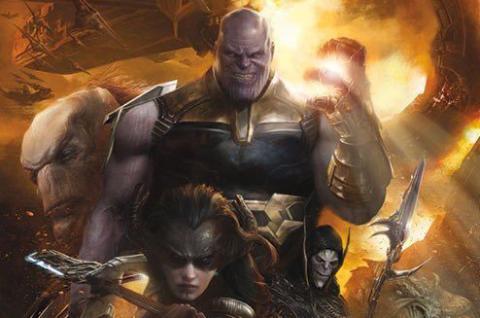 Orden Negro de Thanos Vengadores: Infinity War