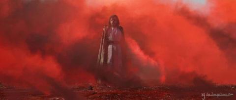Star Wars: Los últimos Jedi - Nuevos concept art con Luke Skywalker
