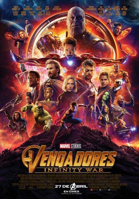 Vengadores: Infinity War póster