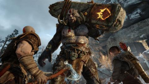 God of War PS4 guiño