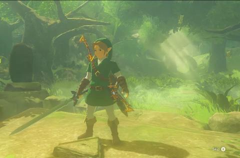 Zelda Breath of the Wild Ocarina of Time guiño