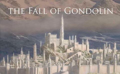 The Fall of Gondolin - nuevo libro de El Señor de los Anillos