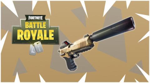 Fortnite Battle Royale - Pistola con silenciador